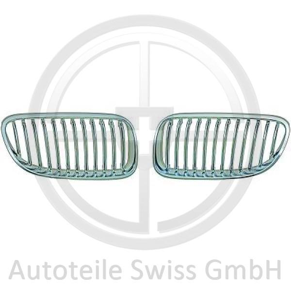 SATZ GRILL RE. oder LI. , BMW, 3-Reihe (E92/93) 10->>