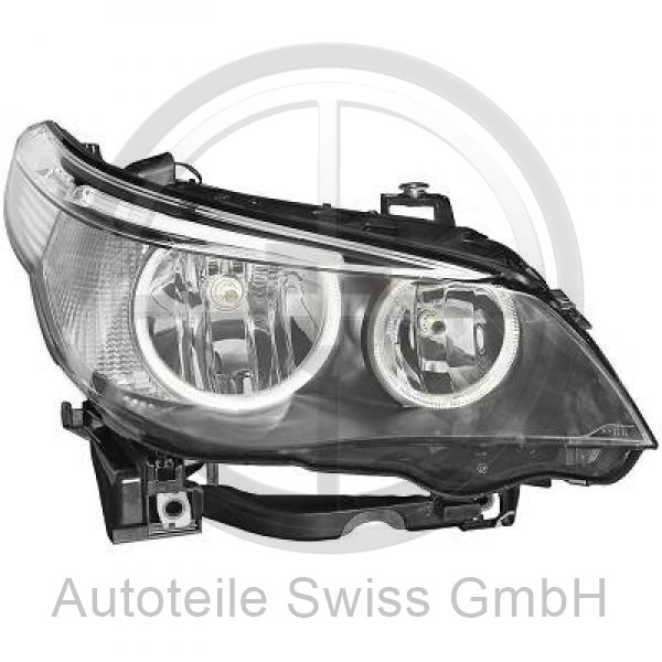 BI XENON SCHEINWERFER RECHTS, , BMW, 5-Reihe (E60/61) 03-07