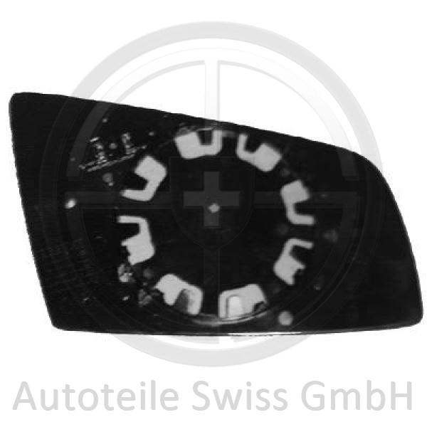SPIEGELGLAS RECHTS , BMW, 5-Reihe (E60/61) 03-07