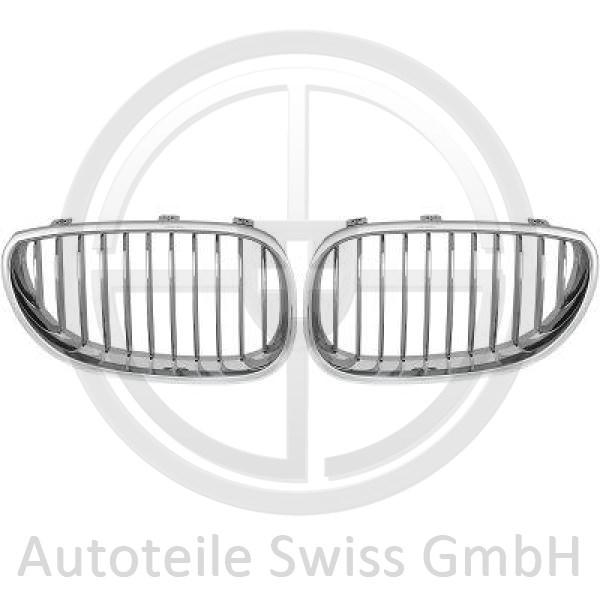 SPORT GRILL SET , BMW, 5-Reihe (E60/61) 03-07