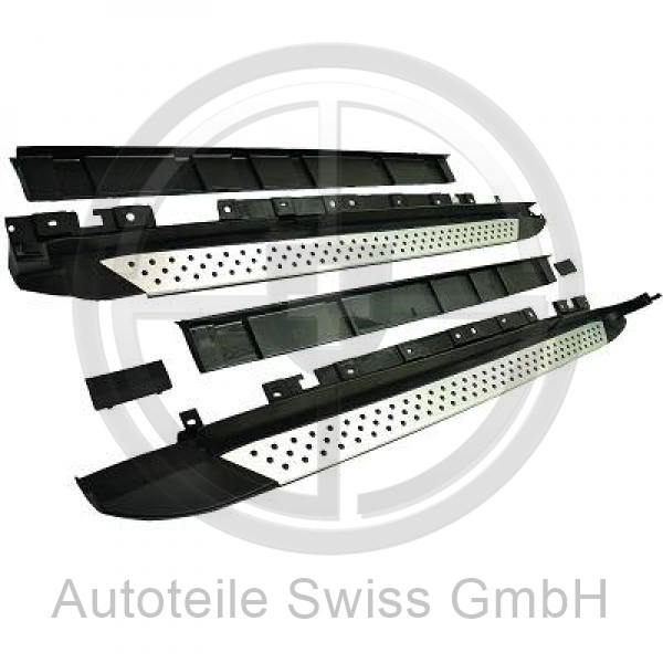 SATZ TRITTBRETTER, BMW, X3 (F25) 10-14