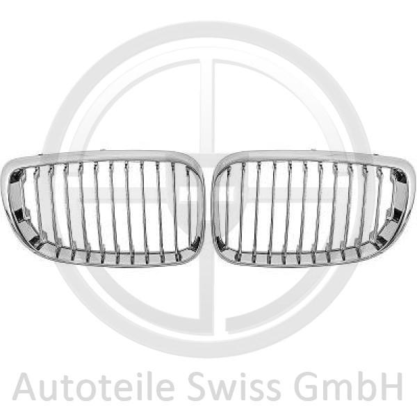 SATZ GRILL , BMW, 1-Reihe (E81/82/87/E88) 08-11