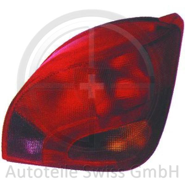 RÜCKLEUCHTE LINKS , Mazda, 121 96-99