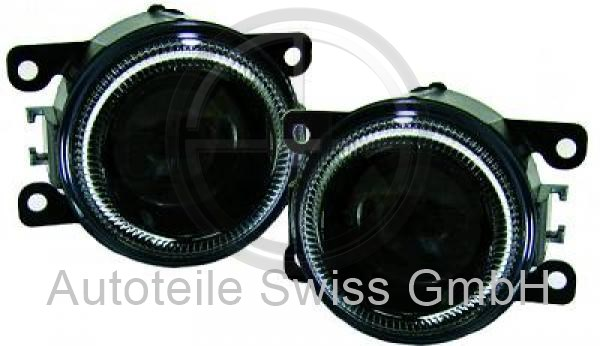 NEBELLAMPEN SET , Peugeot, 307 Lim. / SW / Break 05-07