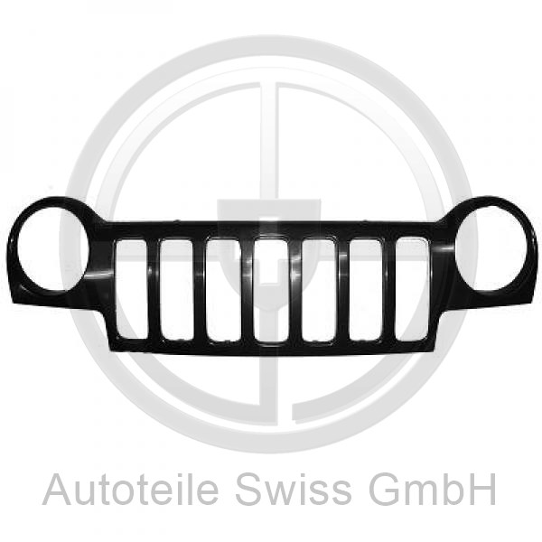 FRONTGRILL , Jeep, Cherokee / Liberty 01-04