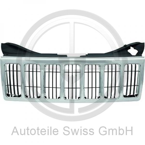 KÜHLERGRILL , Jeep, Grand Cherokee 05-10