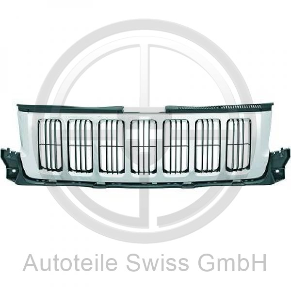 KÜHLERGRILL , Jeep, Grand Cherokee 11->>