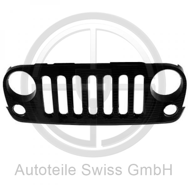 FRONTGRiLL , Jeep, Wrangler III 07->>