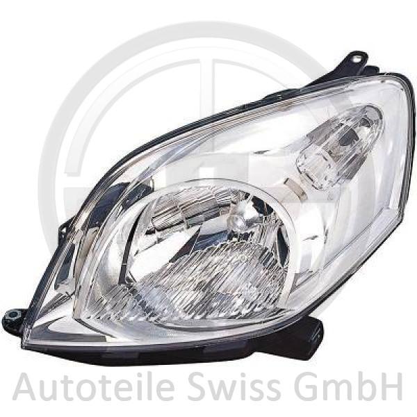 SCHEINWERFER LINKS , Peugeot, Bipper 08->