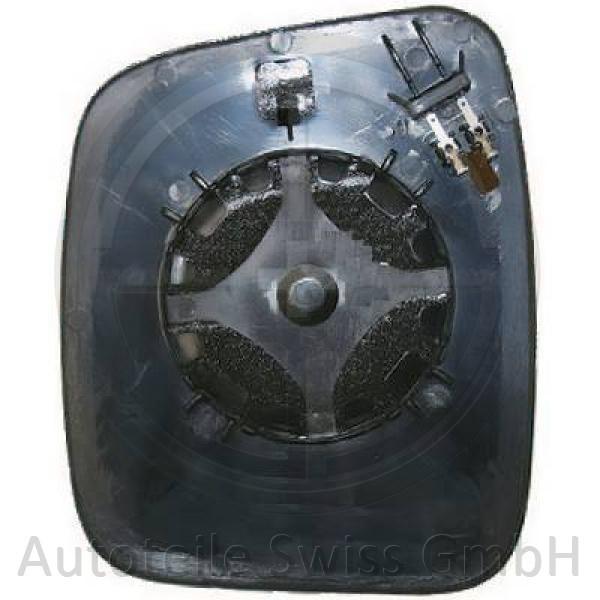 SPIEGELGLAS LINKS , Peugeot, Bipper 08->