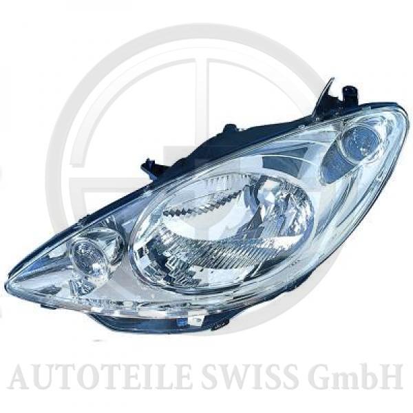 SCHEINWERFER RECHTS , Peugeot, 1007 05-09