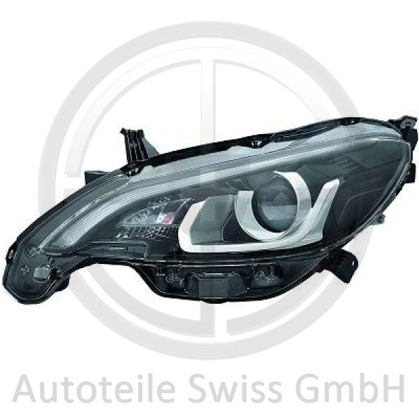 SCHEINWERFER LINKS , Peugeot, 108 14->>