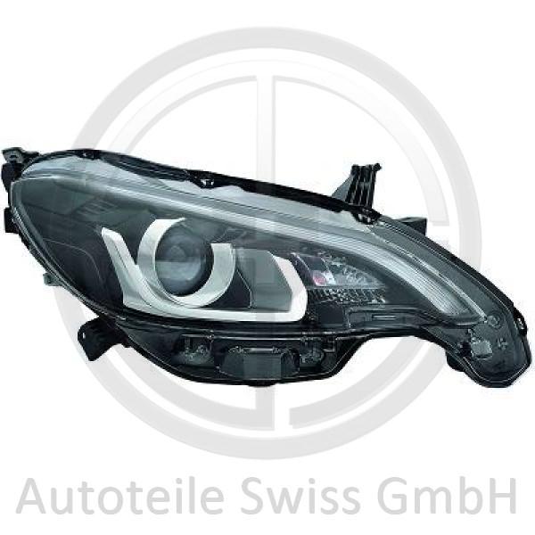 SCHEINWERFER RECHTS , Peugeot, 108 14->>