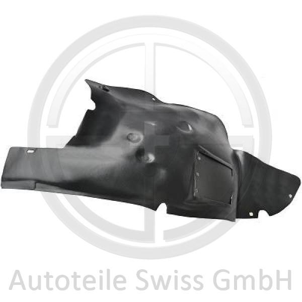 RADSCHALE RECHTS , Peugeot, 206 / 206 CC 98-08