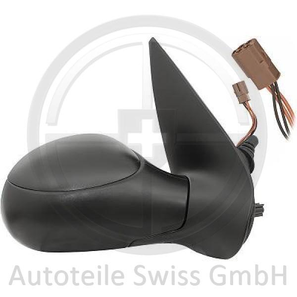 SPIEGEL RECHTS , Peugeot, 206 / 206 CC 98-08