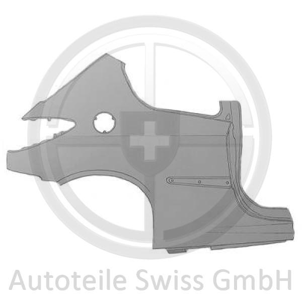 SEITENTEIL HINTEN LINKS, , Peugeot, 206 + Plus 09->>