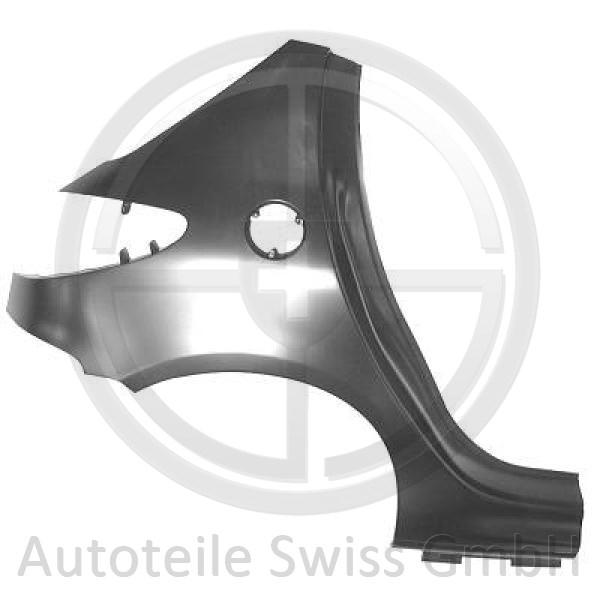 SEITENTEIL HINTEN RECHTS, , Peugeot, 206 + Plus 09->>