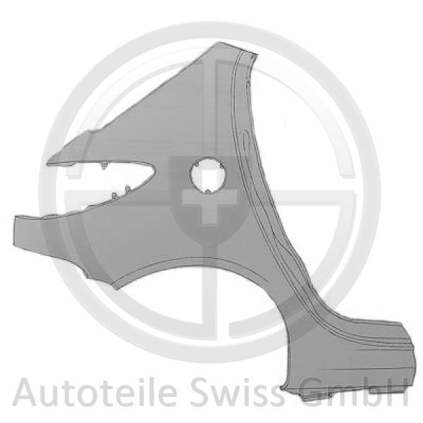 SEITENTEIL HINTEN LINKS, , Peugeot, 206 / 206 CC 98-08