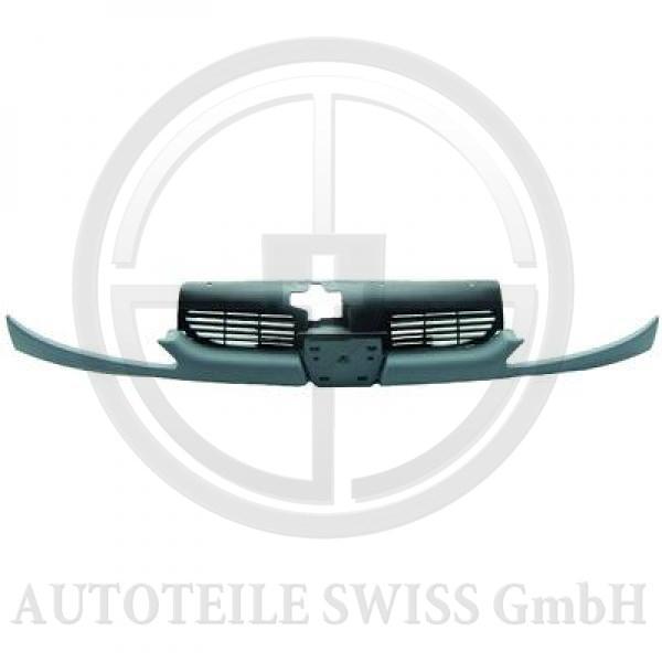 KÜHLERGRILL 3 TLG. , Peugeot, 206 / 206 CC 98-08