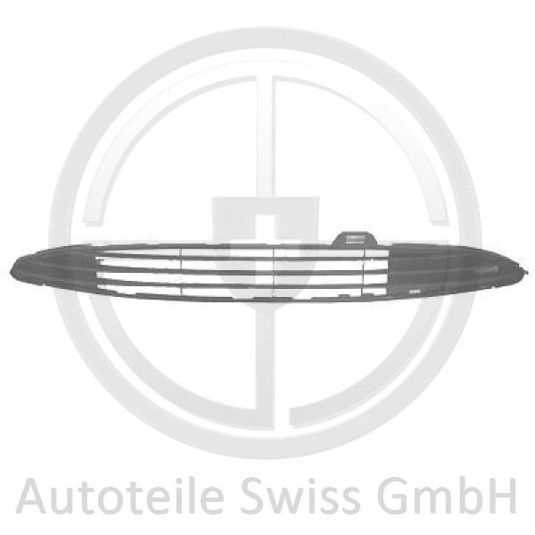 STOßSTANGE GRILL VORNE , Peugeot, 206 / 206 CC 98-08