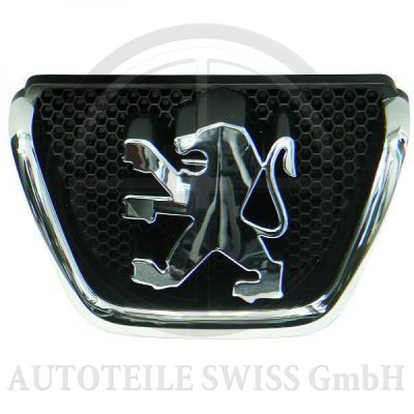 EMBLEM FÜR GRILL , Peugeot, 206 / 206 CC 98-08