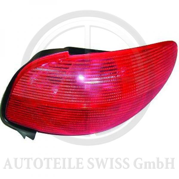 RÜCKLEUCHTE LINKS , Peugeot, 206 / 206 CC 98-08