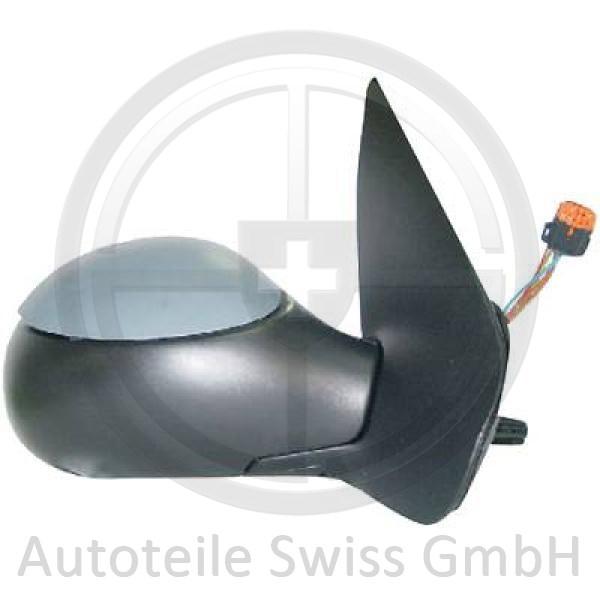 SPIEGEL RECHTS , Peugeot, 206 + Plus 09->>