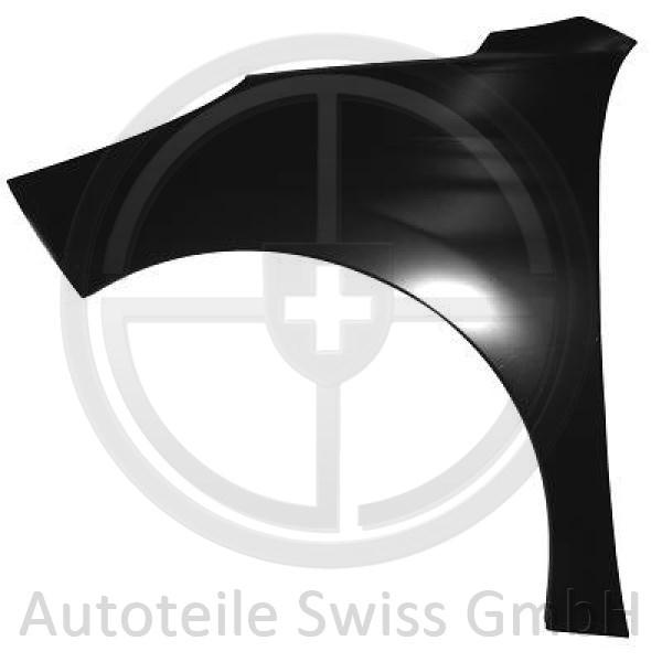KOTFLÜGEL RECHTS , Peugeot, 207 09-12