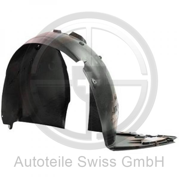 RADHAUSSCHALE LINKS , Peugeot, 207 09-12