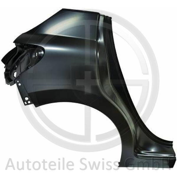 SEITENTEIL RECHTS , Peugeot, 207 09-12