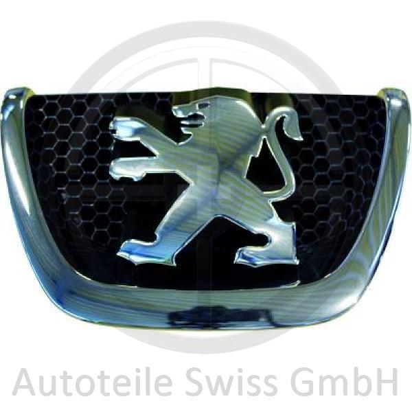 EMBLEM , Peugeot, 207 09-12