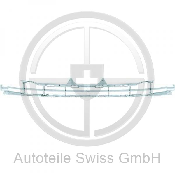STOßSTANGE GRILL , Peugeot, 207 06-09