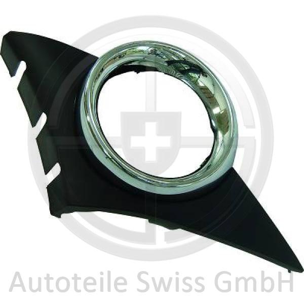 STOßSTANGE GRILL RECHTS , Peugeot, 207 06-09