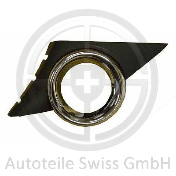 STOßSTANGE GRILL LINKS , Peugeot, 207 06-09