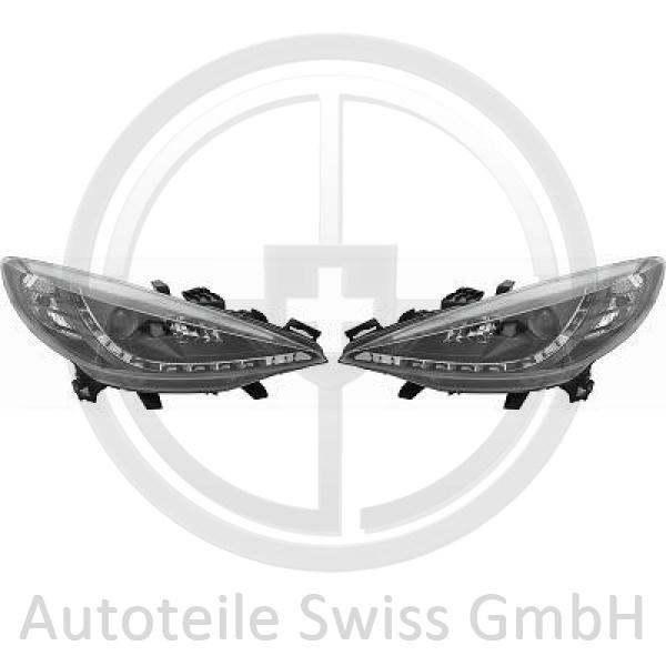 SCHEINWERFER SET , Peugeot, 207 09-12