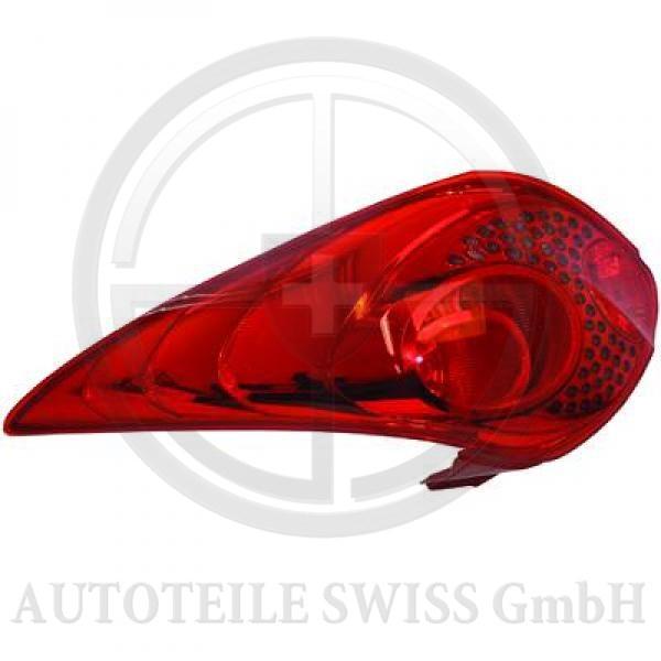 RÜCKLEUCHTE LINKS , Peugeot, 207 09-12