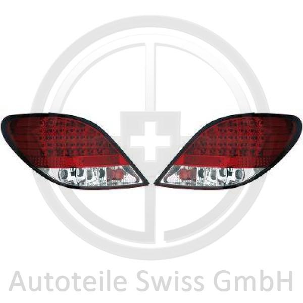 RÜCKLEUCHTEN SET , Peugeot, 207 09-12