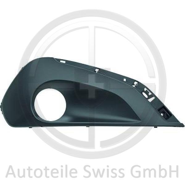 STOßSTANGE GITTER RECHTS , Peugeot, 208 15->>