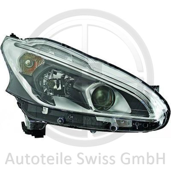 SCHEINWERFER RECHTS , Peugeot, 208 15->>