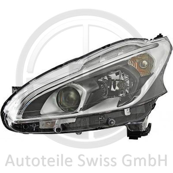 SCHEINWERFER LINKS , Peugeot, 208 15->>