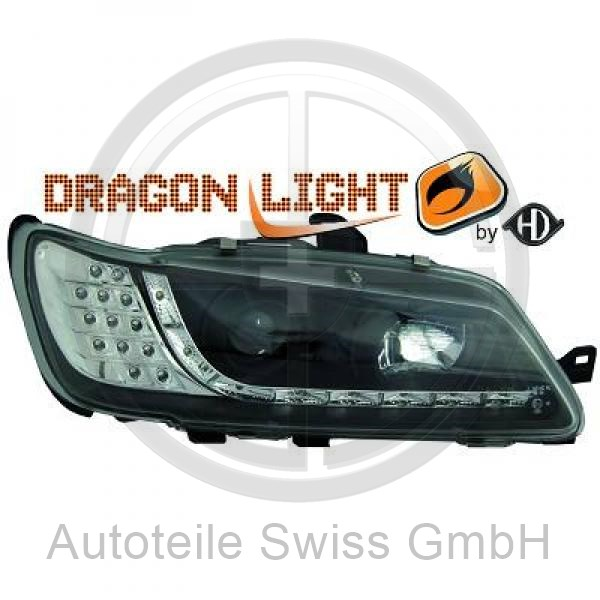 SCHEINWERFER SET , Peugeot, 306 II Lim./Break 97-01