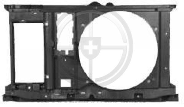 KÜHLERZARGE , Peugeot, 307 Lim. / SW / Break 01-05