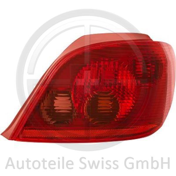 RÜCKLEUCHTE RECHTS , Peugeot, 307 Lim. / SW / Break 01-05