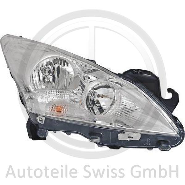 SCHEINWERFER RECHTS , Peugeot, 3008 09-16
