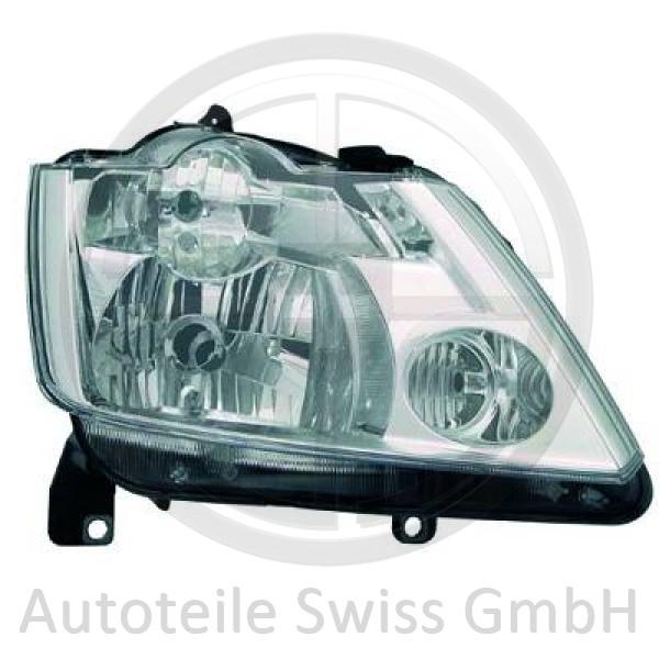 SCHEINWERFER RECHTS , Renault, Modus 04-07