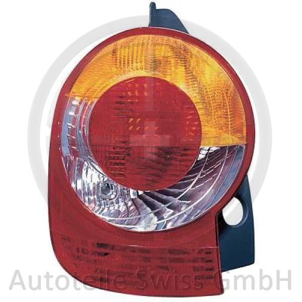 RÜCKLEUCHTE RECHTS , Renault, Modus 04-07