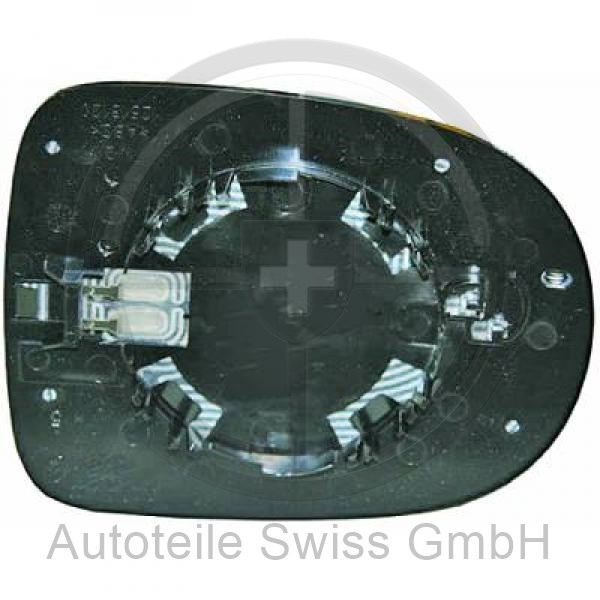 SPIEGELGLAS LINKS , Renault, Modus / Grand Modus 08-13