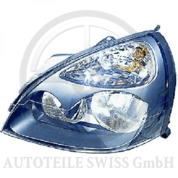 SCHEINWERFER LINKS , Renault, Clio 01-05