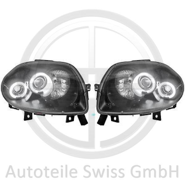 SCHEINWERFER SATZ , Renault, Clio II 98-01
