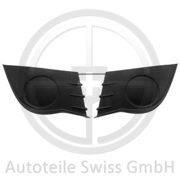 SATZ STOßSTANGE GITTER , Renault, Clio 05-09